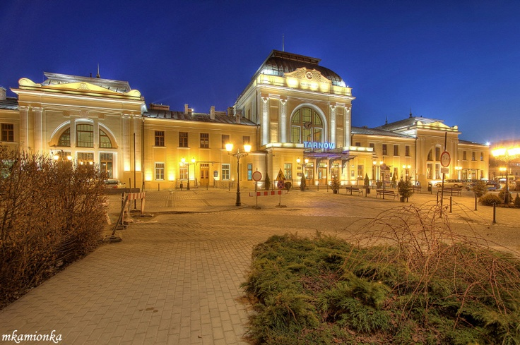 Tarnow Poland Railway Station