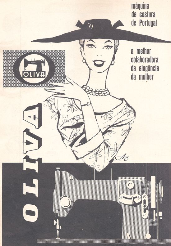 Oliva, a máquina de costura made in Portugal 1961