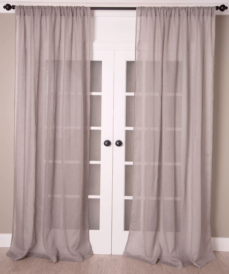 Best 25 Sheer Curtains Ideas On Pinterest