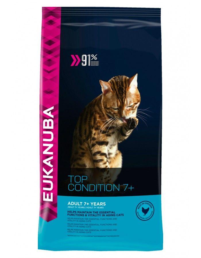 Eukanuba Cat Senior Top Condition 7+ 10 kg