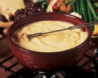 Gorgonzola Fondue with Winter Vegetables | Wisconsin Milk Marketing Board