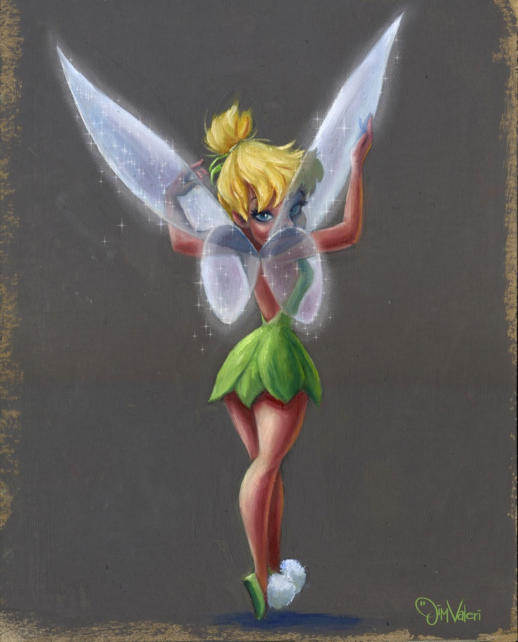 Tinkerbell, the pixie