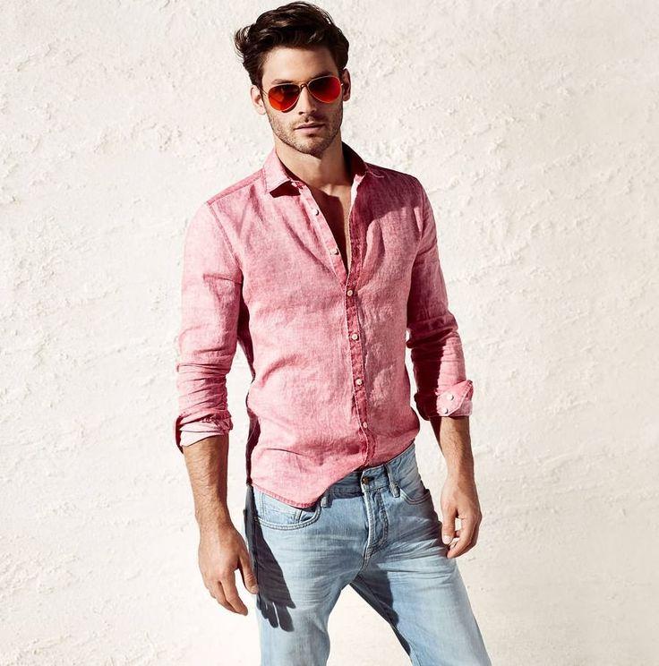 Men's casual style | Samuel Trepanier for Olymp Level 5