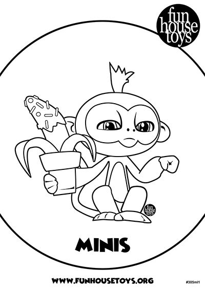 Fingerlings Printable Coloring Pages Visit funhousetoys