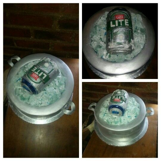 Castle lite cake ceated by Linda Mcloughlin