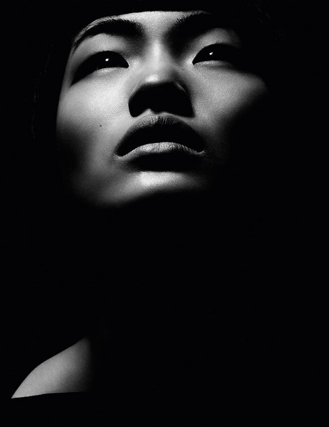 black-white-madness:  Madness:  Chiharu Okunugi for Pop SS 2013 by Mel Bles