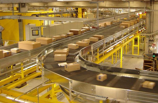 Sorting systems. Automated sorting technologies and high speed conveyors that can be integrated with other material handling systems
