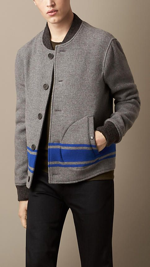 Burberry Brit Collegiate Bomber Jacket
