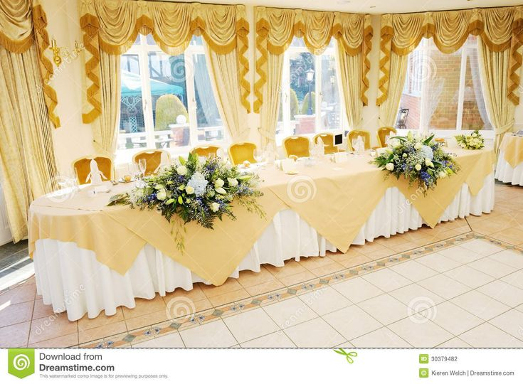 38 best images about head table decor on pinterest for Table and chair decorations for weddings