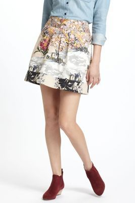 That's a great skirt:  Minis, Skirts Anthropology, Anthropology Patterns, Anthropologie Eu, Anthropologiecom, Fortress Skirts, Anthropologie Com, Flora Fortress, Anthropology Flora