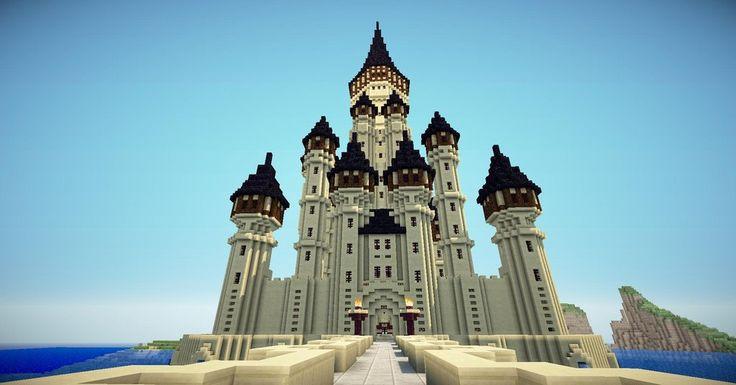 Giant Sandstone Minecraft Palace VeteranCraft Likes this! #minecraft #veterancraft http://www.veterancraft.net
