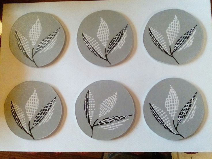 Sic piece set of coasters
