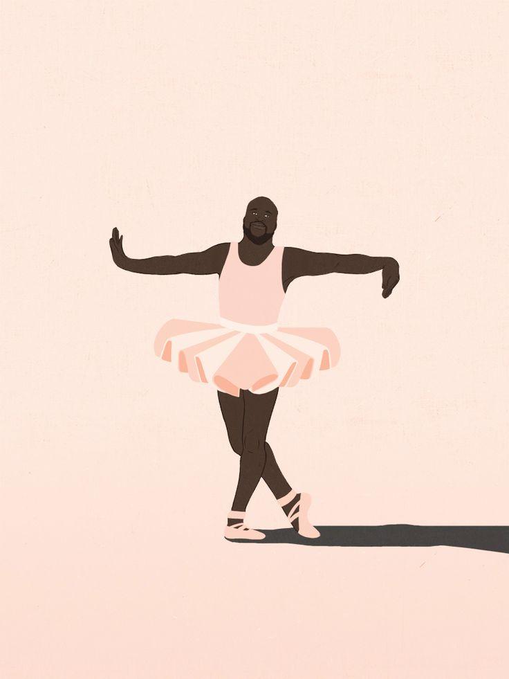 Se ti dico Dance Like Shaquille O'Neal, cosa mi disegni? Anna Parini http://www.dlso.it/site/2013/05/08/passaporto-anna-parini/