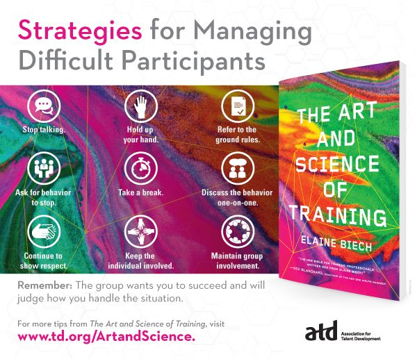 New from Elaine Biech's December 2016 ATD Press book, The Art and Science of Training