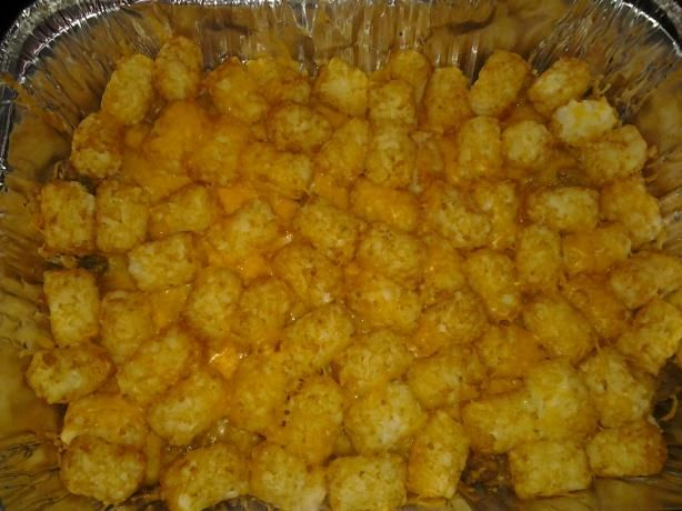 Tater tot casserole, Tater tots and Casseroles on Pinterest