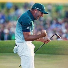 Sergio Garcia and Justin Rose's amazing Masters Sunday, in pictures - Golf Digest
