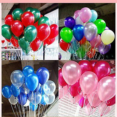 100st+kleurrijke+parel+latex+ballon+viering+partij+kerst+decor+–+EUR+€+3.91