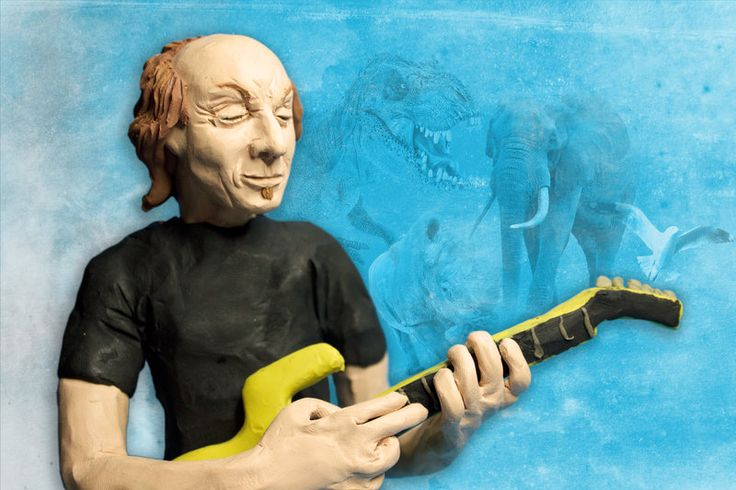 To Belew by altertaipei.deviantart.com on @DeviantArt #adrianbelew #illustration #clay
