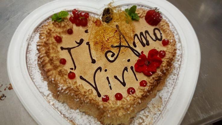 Torta romantica personalizata