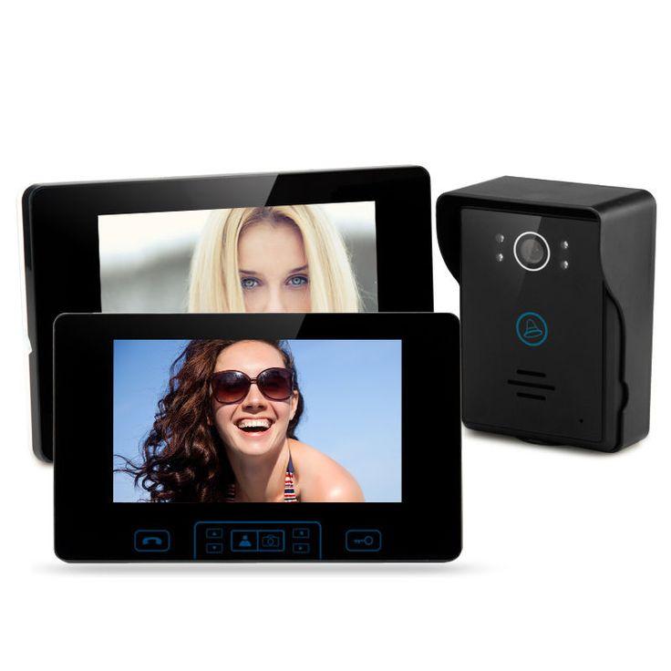 Wireless Video Digital Home Door Phone Doorbell Intercom 7Ccd Camera KeySecurity