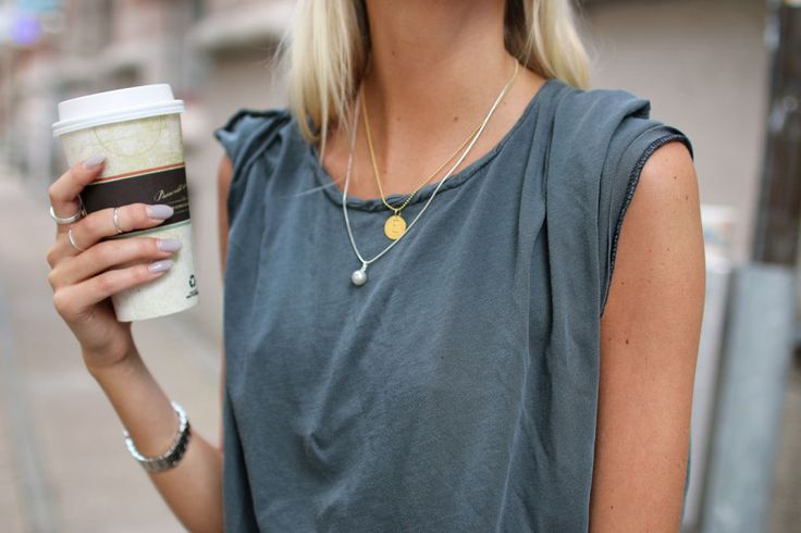 Always coffee in hand: