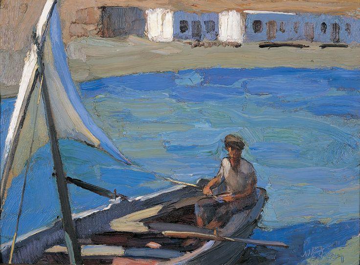 Βάρκα με πανί (Πάνορμος, Τήνος)Nikolaos Lytras.