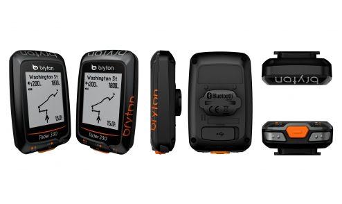 GPS Bryton Rider 330T - avec Capteur de Cadence et Ceinture Cardio