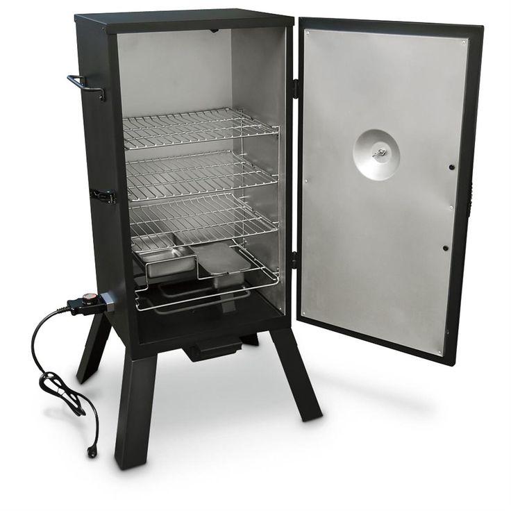 Masterbuilt 30 electric analog smoker products smokers for Smoked fish in masterbuilt electric smoker