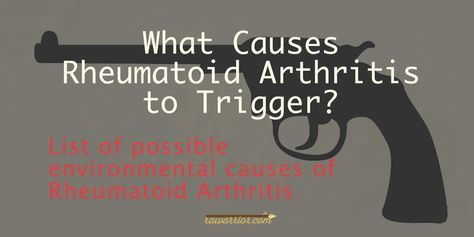 Discussion of several factors being studied to determine what causes Rheumatoid Arthritis including questions patients ask and several research articles.