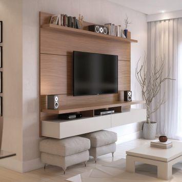 Por Que O Painel Para TV City? Nada Como Reunir Toda A Família Para  Assistir. Tv RoomsLiving RoomsLiving Room IdeasCondo ...