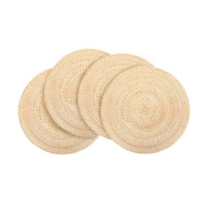 Core Bamboo Chargers Natural 4pc