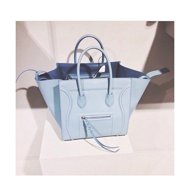 Celine phantom bag light blue   What I Love.   Pinterest