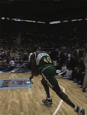 Shawn Kemp's Slam Dunk Contest Sneaker History | Sole Collector