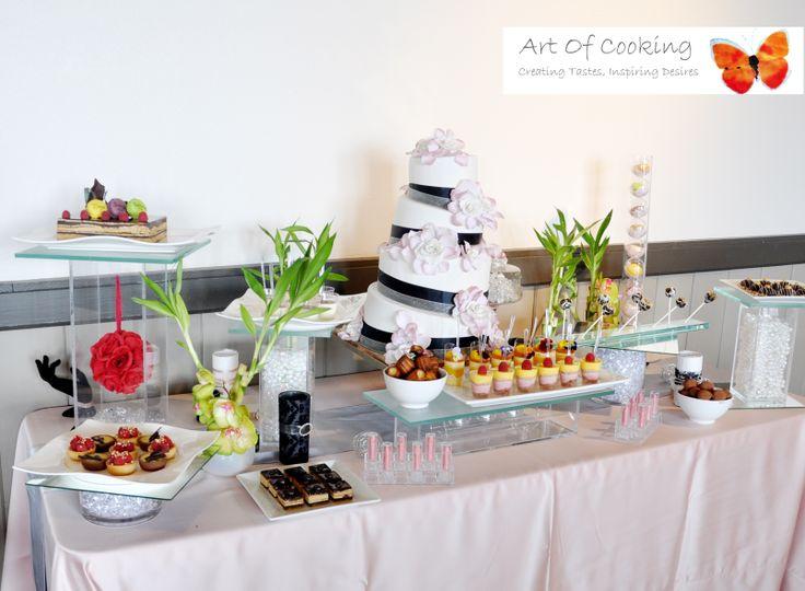 Wedding Cake And Gourmet Dessert Station