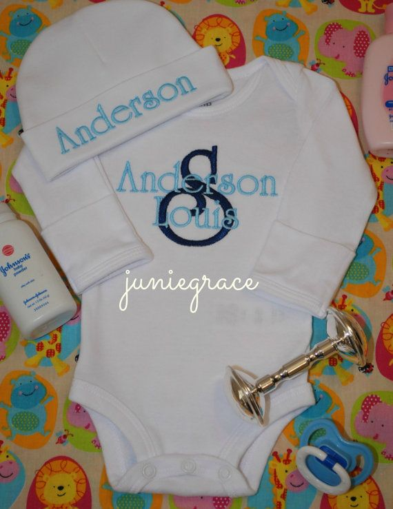 68 best baby 2 images on pinterest baby boys clothes newborns personalized navy and baby blue baby boy short or by juniegrace negle Images