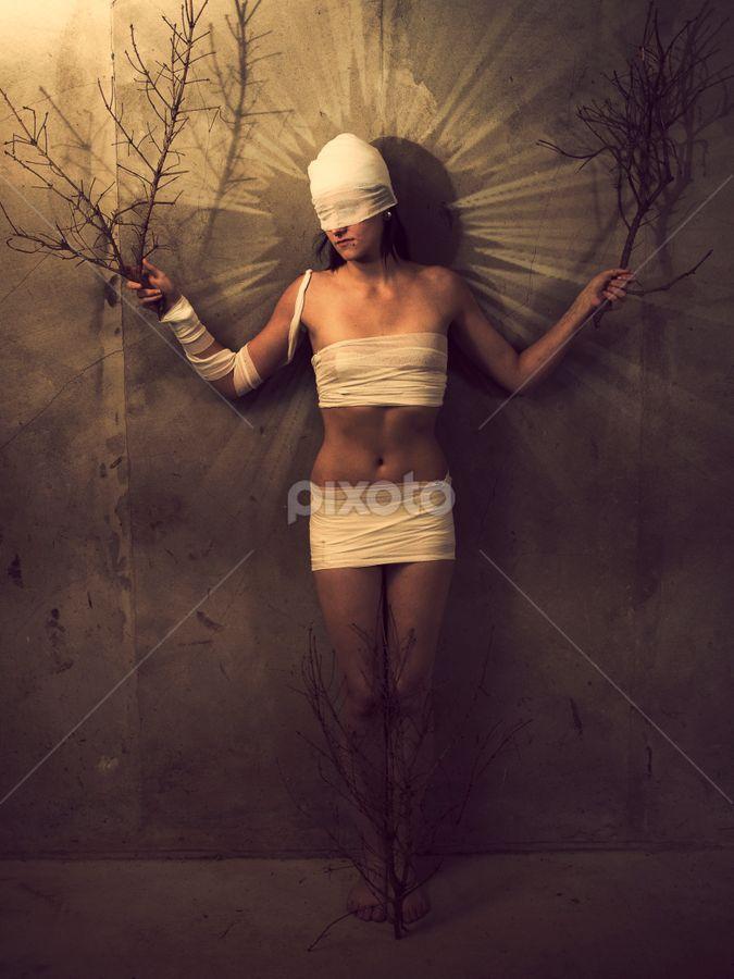 from the series those who sleep by Ahmad Torabi - Digital Art People ( those who sleep )