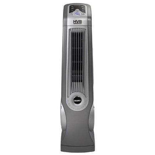 "Lasko #4930 35"" Remote Control Oscillating High Velocity Fan, Gray  #Lasko"