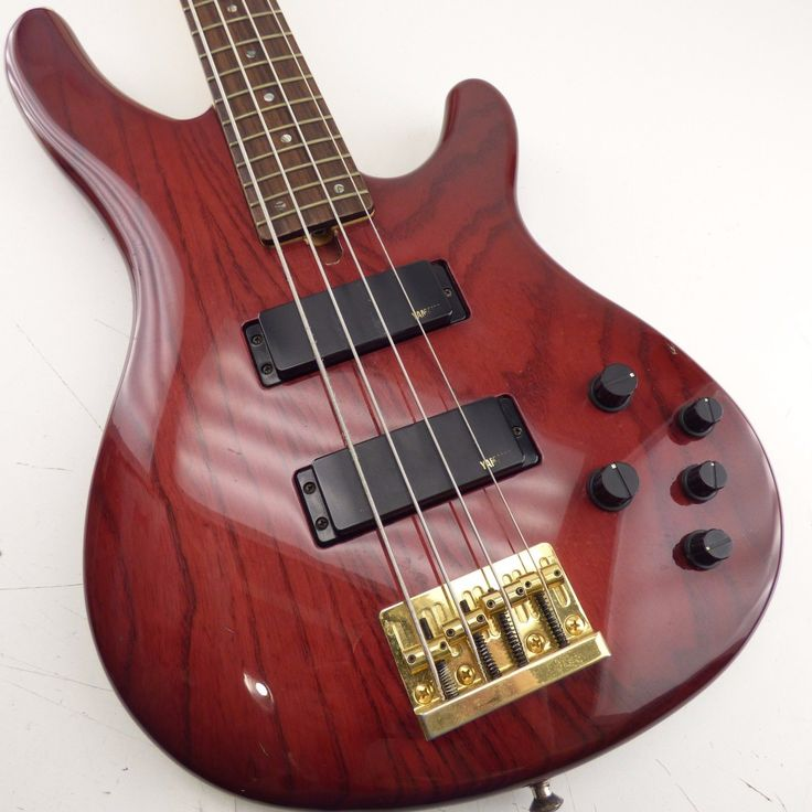 Yamaha Bass Guitar-TRB 4II-Made In Japan-4-String-Used Great Condition -Burgundy
