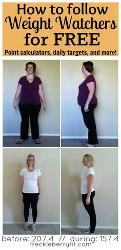 Follow Weight Watchers for Free from Freckleberry Fit.