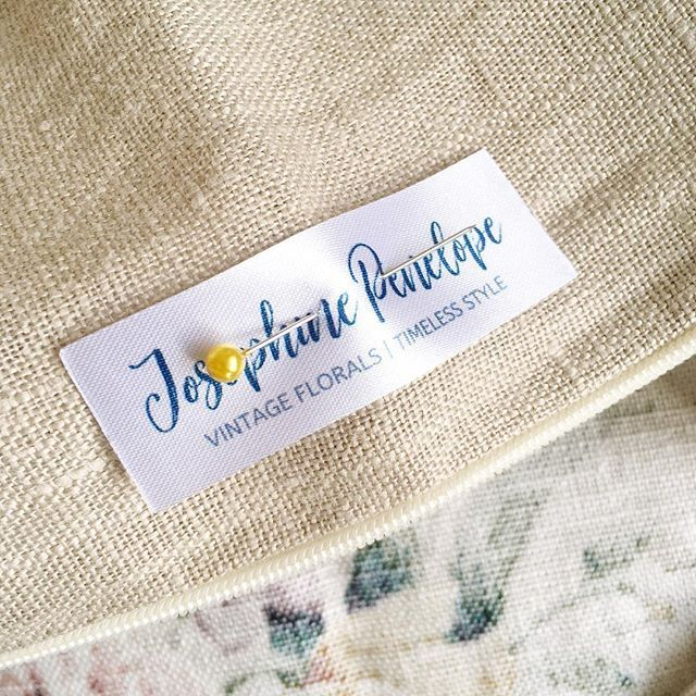 And it's Monday again, I hope you had a lovely weekend? We had a 4-hour power cut yesterday, so no sewing machine power and no tea! But a good excuse to do some other bits and bobs like pin my new labels in place on all of my new cushion covers, which I'm hoping to get up in Etsy at the end of this week. Have a great Monday!! 😀