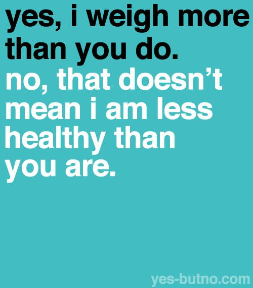 Healthy is as Healthy does! Skinny does not = healthy