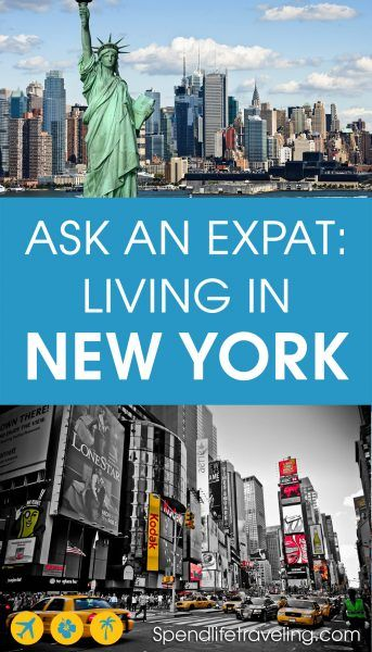 Many people dream of moving to New York... But what is it really like to move to this fast paced city? Especially coming from a different country? This is an interview with a European expat about moving to and living in New York. #expat #expatlife #movetonewyork #moveabroad #lifeinnewyork