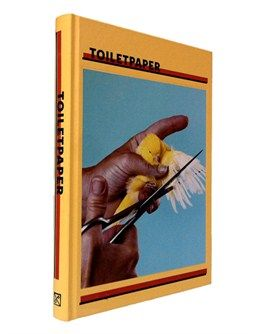 'Toiletpaper' Volume I | Yellow edition by Maurizio Cattelan and Pierpaolo Ferrari - ISBN 9788862082105 Yellow