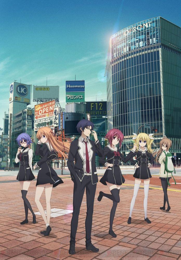 Revelados nuevos bocetos de personajes del Anime CHAOS;CHILD.