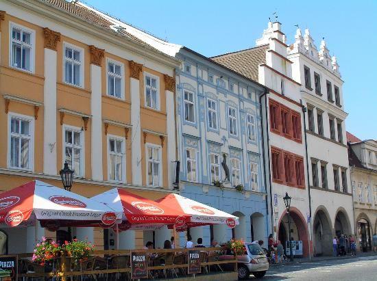 Peace Square (main square) - Litomerice, Czech Republic