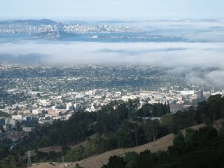 Beautiful Bay Area from Grizzly Peak, Berkeley