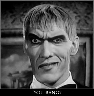 "Ted Cassidy (1932-1979) as Lurch in ""The Addams Family"""