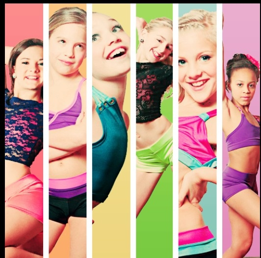 Dance Moms Brooke, Maddie, Mackenzie, Nia, Paige, and Chloe. Pictures of Dance Moms original six dancers.