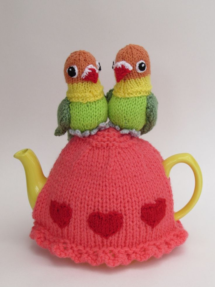 Look out for the Lovebirds tea cosy designed by TeaCosyFolk in the Simply Knitting Magazine issue 169, on the 2nd of February 2018