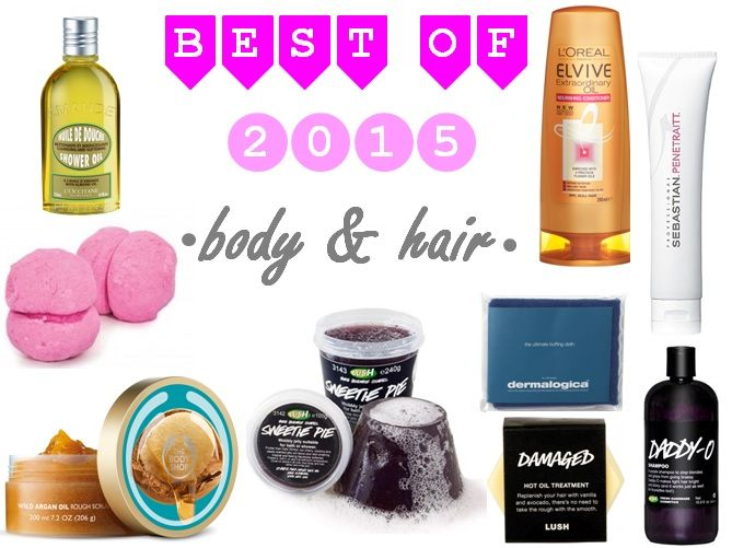 Best of 2015 - body and hair